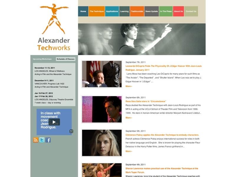 AT website sample